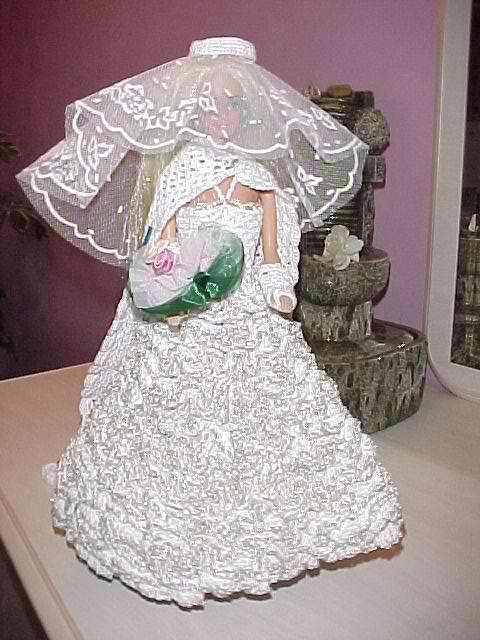 Nacrea Crochet Barbie Princesse